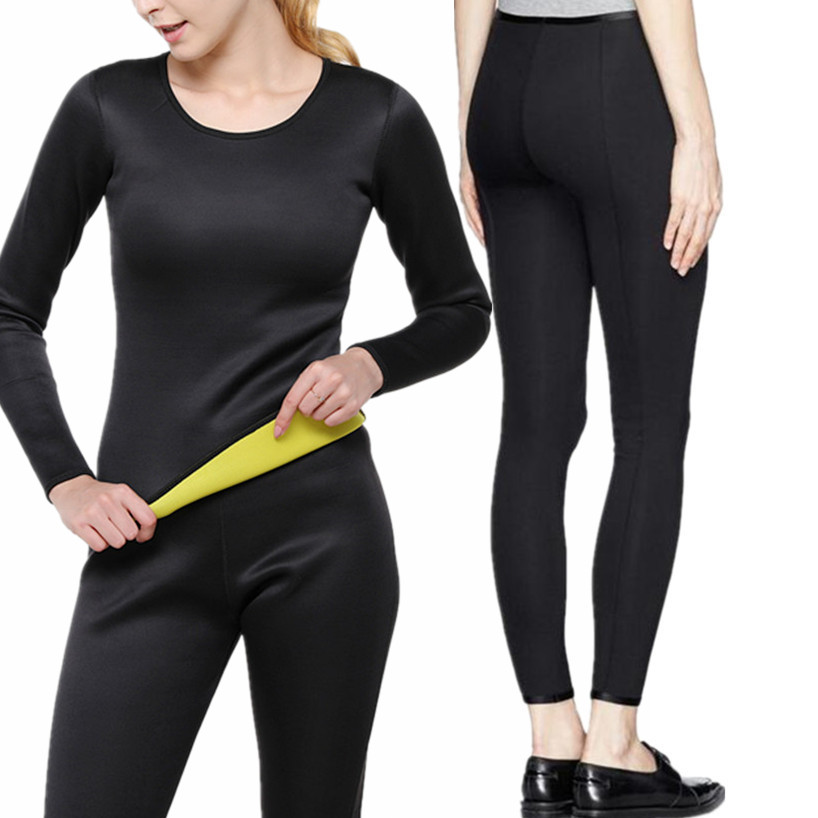 Plus Size Women's Yoga Set Gym Fitness Clothes Hot Slimming Shirt+Pants Running Tights Jogging Workout Yoga Leggings Sports Suit