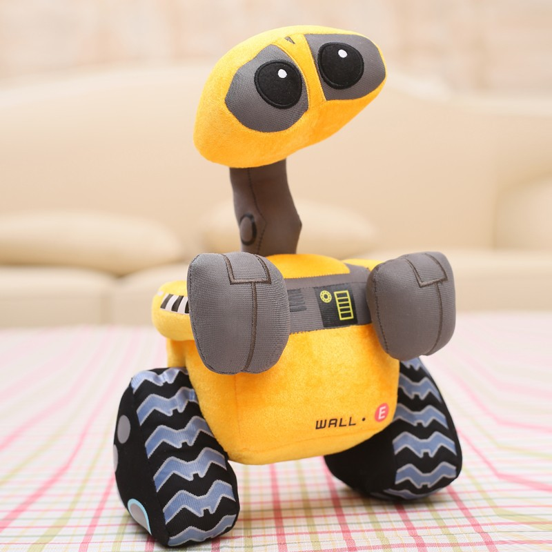 Free shipping 100% Original Wall-E Walle Minion Robot Plush toys WALL.E Stuffed Doll Children Christmas Birthday Gift 27cm fancytrader new style giant plush stuffed kids toys lovely rubber duck 39 100cm yellow rubber duck free shipping ft90122