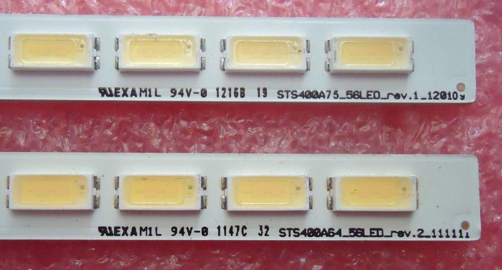 Led Backlight Screen LJ64-03501A STS400A75-56LED-REV.1 Led Backlight 1pcs=56led 493mm