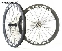 20 inch bike carbon wheel, Full carbon Velosa 20inch 451 carbon wheelset,38mm clincher folding bike wheel