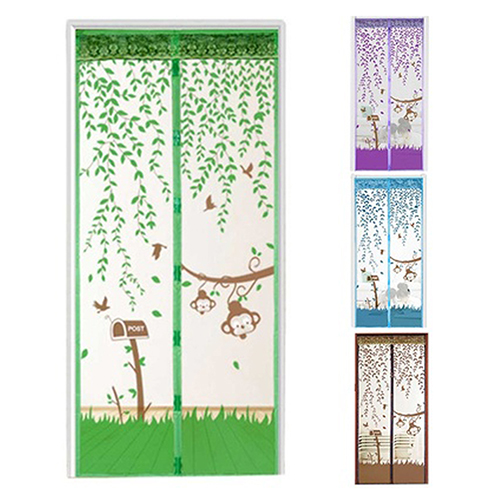 Hands-Free Magnetic Soft Door Durable Fly Screen Anti Mosquito Bug Mesh Curtain