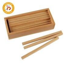 Детская игрушка Монтессори Высококачественная коробка деревянных