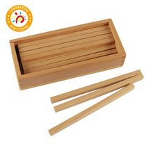 Montessori Kids Toy High-Quality Box of Wooden Prisms