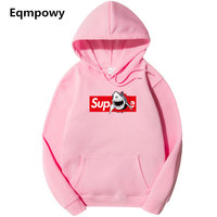 Suprem Hoodie Men Sweatshirt Pullover Brand Style Hip Hop Streewear Fashion Hooded Clothing Letter Printed Sweatshirts