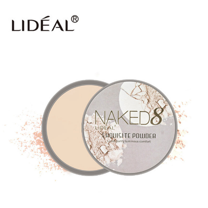 Concealer Pressed Powder Long-lasting Oil-control Whitening Brighten Long- base Moisturize Make the face delicate and smooth image
