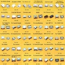 36 מודלים 360 יח\חבילה מיקרו USB 5 פין שקע מיקרו USB שקע מיקרו USB 5 P שקע מחבר יציאת עבור סמסונג Lenovo Huawei ZTE HTC ect