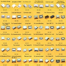 Conector micro usb 5 p, 36 modelos 360 pçs/lote micro usb soquete de 5 pinos micro usb samsung lenovo huawei zte htc ect