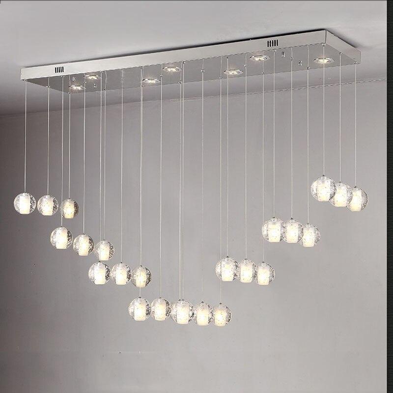 Nuevo diseño de la burbuja mágica bola de cristal lámpara de techo sala de estar iluminación.jpg