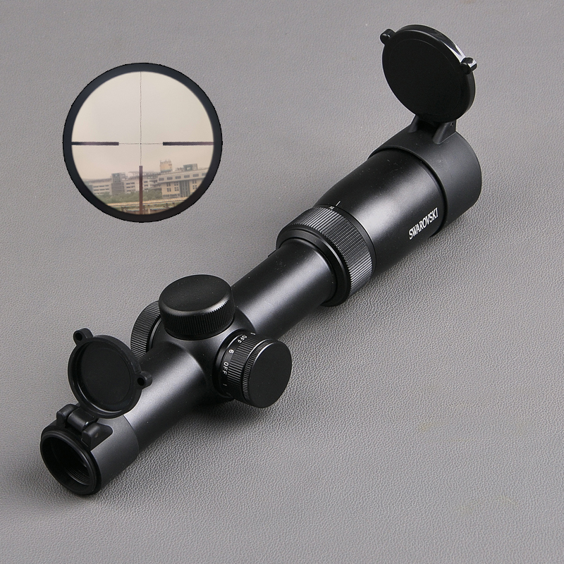 Swarovskl 1-6x24 IR Circle Dot Punctuate Differentiation Sight Glass Reticle Rifle Scope Hunting Scopes For Sniper Airsoft tactical optical sights 1 6x24irz3 f101 circle dot punctuate differentiation sight glass reticle rifle scope hunting riflescope
