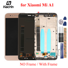 For Xiaomi Mi A1 MiA1 LCD Display + Touch Panel LCD Screen Digitizer Assembly Replacement For Xiaomi Mi5X Mi 5X 5.5inch + tools