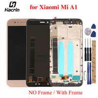 For Xiaomi Mi A1 MiA1 LCD Display Touch Panel LCD Screen Digitizer Assembly Replacement For Xiaomi