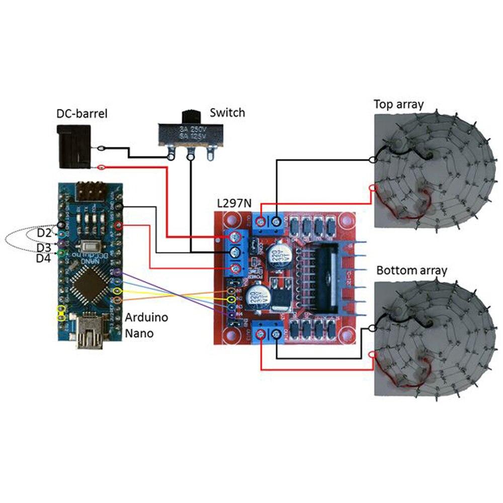 Электрический ультразвуковой левитационный электронный DIY Набор Левитатор простой и доступный TinyLev портативный акустический трактор - 4