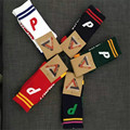 Palace Skateboards Fashion Brand Socks Men Women 2017 New Arrival P Print Striped 5 Colors Hip hop Streetwear Thick Cotton Socks