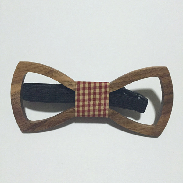 Hollow Mens Tie Wooden Bow Tie New Arrival Fashion Important Occasion Wood BowTie As a Gift For Your Loved