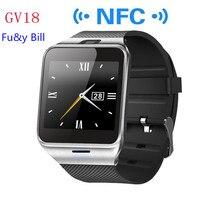 แฟชั่นใหม่A Plus GV18บลูทูธสมาร์ทนาฬิกาสนับสนุนซิมโทรบัตรNFCสมาร์ท