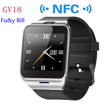 New Fashion Aplus GV18 Bluetooth Smart Watches Support SIM Card Calls NFC Smart Reminder Step Movement Smart Watches