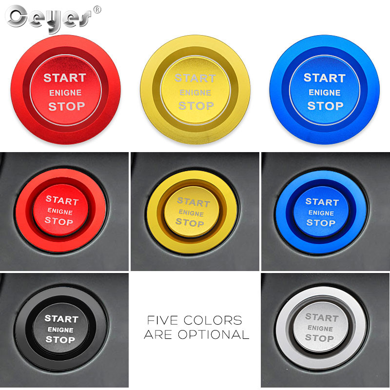 Car Start Engine Button Key Ring for LAND ROVER (21)