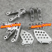 Aluminum Alloy NEW Front Rider Foot Pegs Footrest Brackets for HONDA 2007 2011 CBR 600 RR F5, Motorcycle Spare Part Accessory