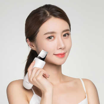 Xiaomi MIJIA Ultrasonic Facial Skin Scrubber Deep Face Cleaning Peeling Skin Care Device xiomi Smart home Chip Beauty Instrument
