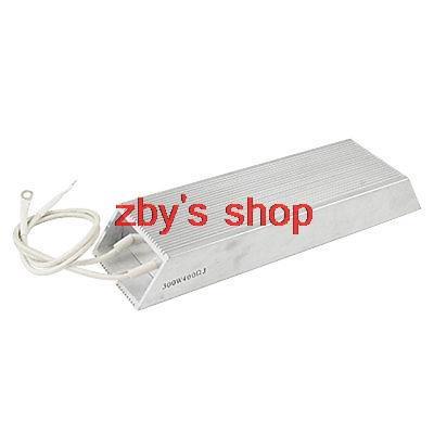 300W 400 Ohm Aluminum Housed Wirewound Braking Resistor300W 400 Ohm Aluminum Housed Wirewound Braking Resistor