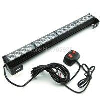 16 LED High Power Strobe Light Fireman Flashing light Police Emergency Warning Flash Car Truck light bar
