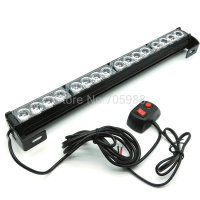 16 LED High Power Strobe Light Fireman Flashing light Police Emergency Warning Flash Car Truck light bar