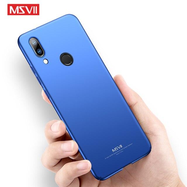 MSVII Huawei P20 lite trường hợp Bảo Vệ Đầy Đủ PC coque Bìa Cho Huawei P30 lite P10 P20 Pro P9 cộng với P8 lite Nova 3e điện thoại trường hợp