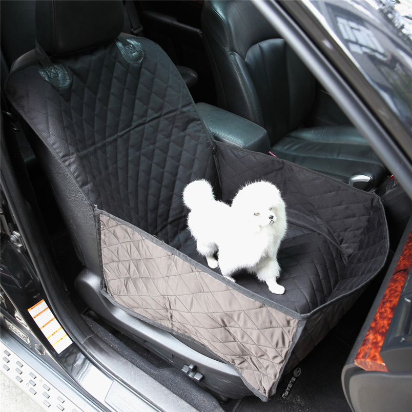 Ocardian Dog Car Seat Soft Pet Front Single Cover Bucket