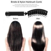 Women Hair Scalp Massage Comb Bristle& Nylon Hairbrush Wet Curly Detangle Hair Brush for Salon Hairdressing Styling Tools