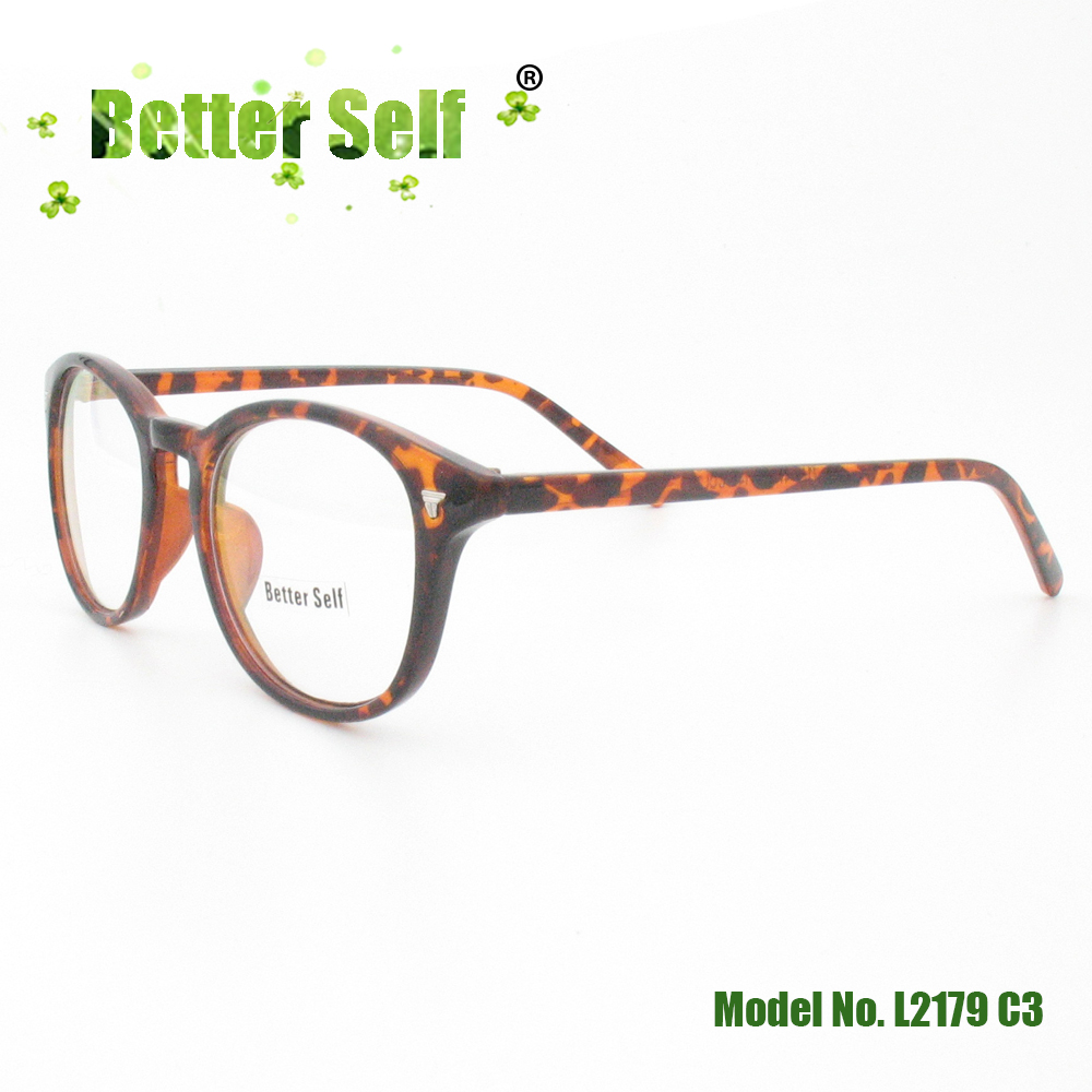 Full Rim Glasses Better Self L2179 Women Optical Vintage Men Glasses Retro Round Cheap Optical Eyeglass Frames image