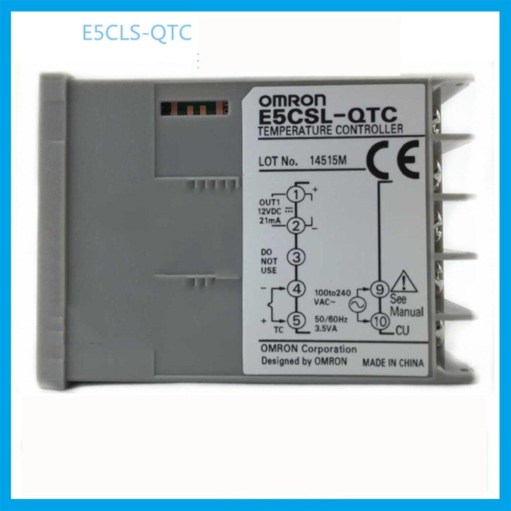 все цены на E5CSL-RTC  Nuovo in scatola omron regolatore di temperatura AC100-240V 50/60Hz  OMRON thermostat apparecchiature elettriche онлайн