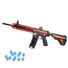 Пластиковая игрушка M416 Электрические пистолеты для страйкбола воздушные Пистолеты для стрельбы гелевый шар Пейнтбол водяной пистолет Снайпер Открытый CS Битва Игра для мальчиков