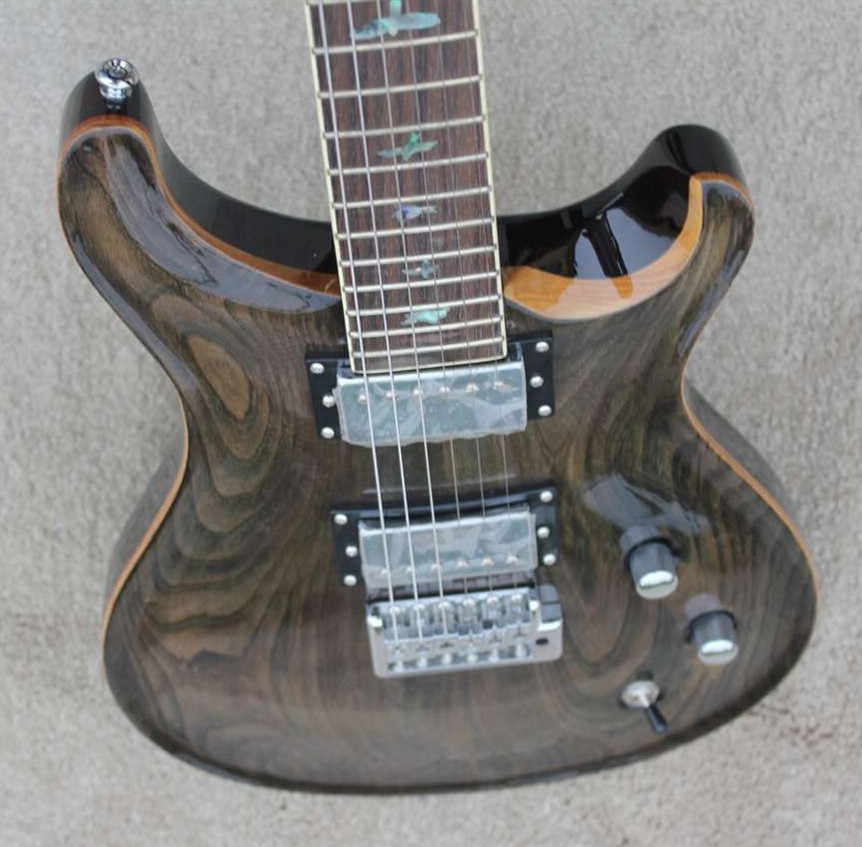 PAS model KSG custom electric guitar tansparent finish 22 frets electric guitar top quality chinese made electric guitar