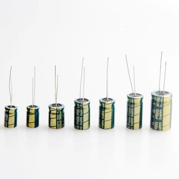 1000UF 6 3V 10V 16V 25V 35V 50V wysokiej częstotliwości kondensator elektrolityczny (zestaw 10 sztuk) tanie i dobre opinie Przez otwór Aluminium kondensator elektrolityczny Ogólnego przeznaczenia DIKAVS Naprawiono pojemnościowe green 6 3-50v