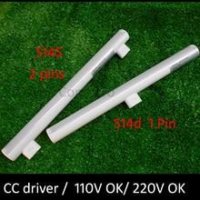 S14D led ışık 3w 6w 10w 12w 300mm 500mm doğrudan değiştirme linestra s14s led ampul lamba ce rohslampenstar