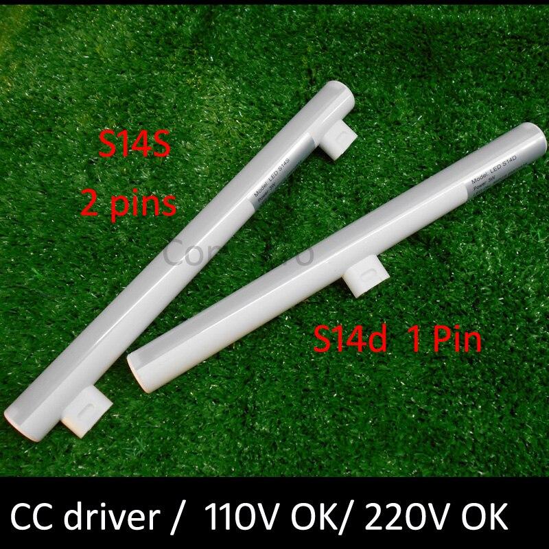 S14d diodo emissor de luz 3w 6 10 12 300mm 500mm substituição direta osram linestra s14s lâmpada led ce rohslampenstar