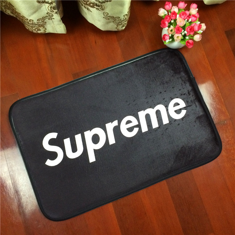 NEW Supreme Letters To Camouflage Flannel Carpet Pad Brand Kitchen Toilet Mat  Rug Mat Water Doorway Door Mat Free Shipping DT49 In Carpet From Home U0026  Garden ...