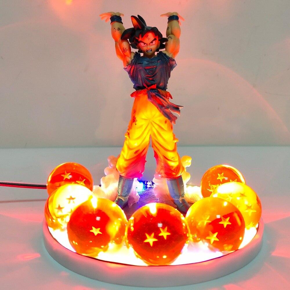 Dragon Ball Z Son Goku Crystal Balls Led Lighting Lamp Bulb Remote Control Dragon Ball Super Goku Spirit Bomb Led Night LightsDragon Ball Z Son Goku Crystal Balls Led Lighting Lamp Bulb Remote Control Dragon Ball Super Goku Spirit Bomb Led Night Lights