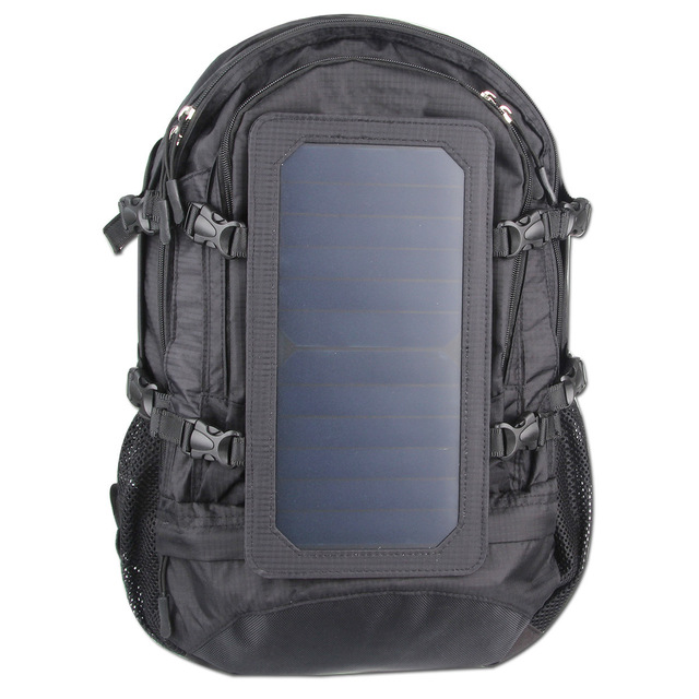 Solar backpack solar charging travel bag men and women shoulder bag mobile phone charging backpack 3