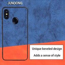 Чехол для телефона для Xiaomi mi 9 8 A1 A2 Lite 5X 6X mi x 2 S Макс 3 красный mi Примечание 7 5 6 Pro 6A деним сшитая ткань уникальный скошенный дизайн