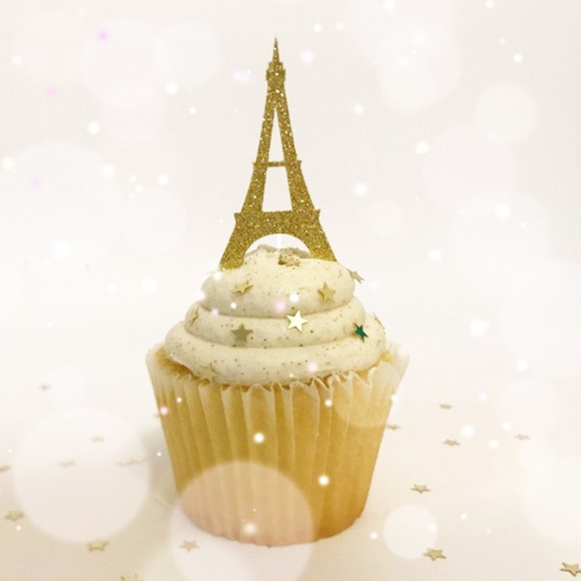 Wondrous Glitter Pink Eiffel Tower Hot Balloon Tassel Rainbow Cake Toppers Funny Birthday Cards Online Aeocydamsfinfo