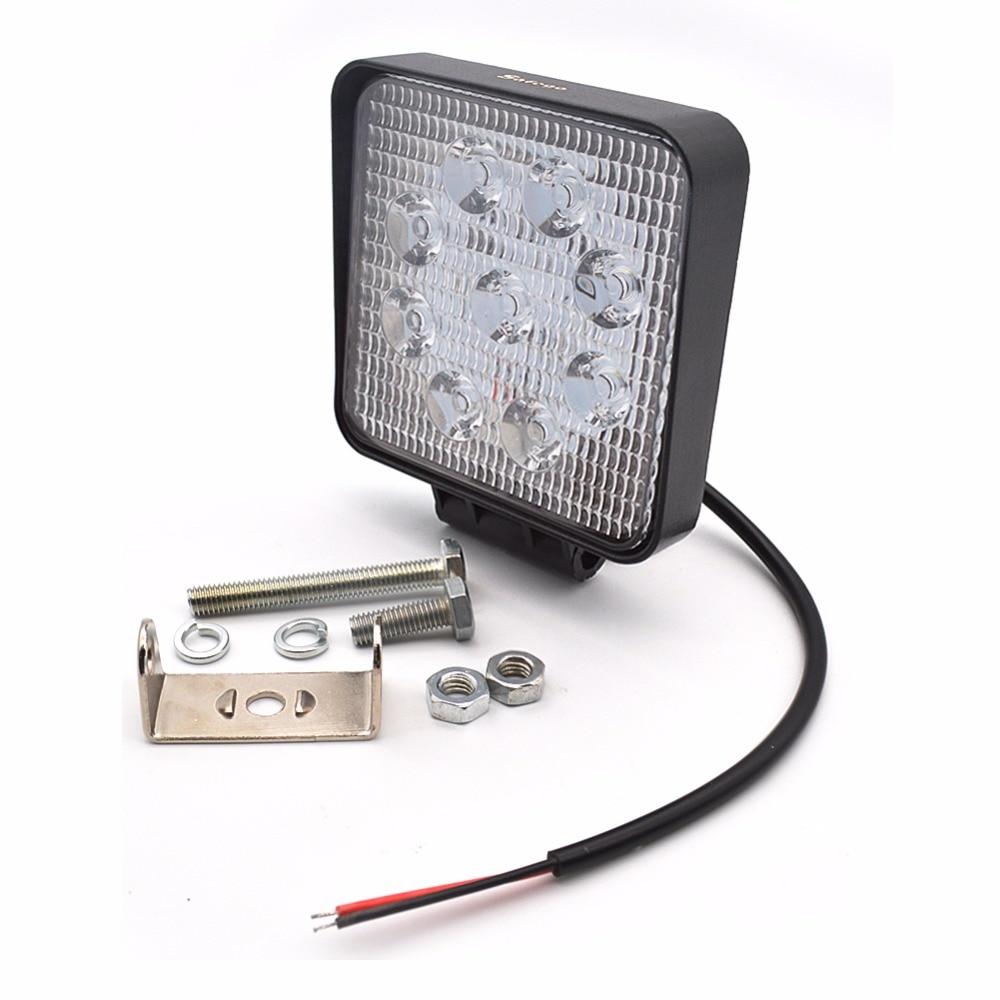 Safego 4pcs 27W LED Light Light Car Offroad Spot Daşqın 12V - Avtomobil işıqları - Fotoqrafiya 3
