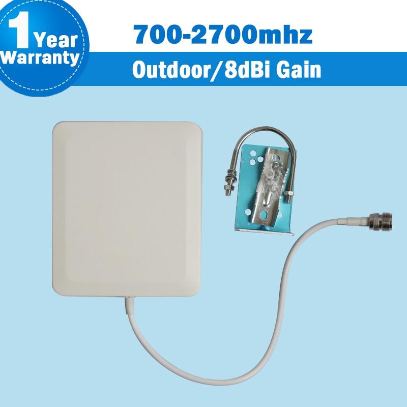 4G 3G 700-2700 MHz LTE GSM CDMA DCS WCDMA red UMTS al aire libre Antena de Panel antena externa para teléfono móvil Siganl de S12