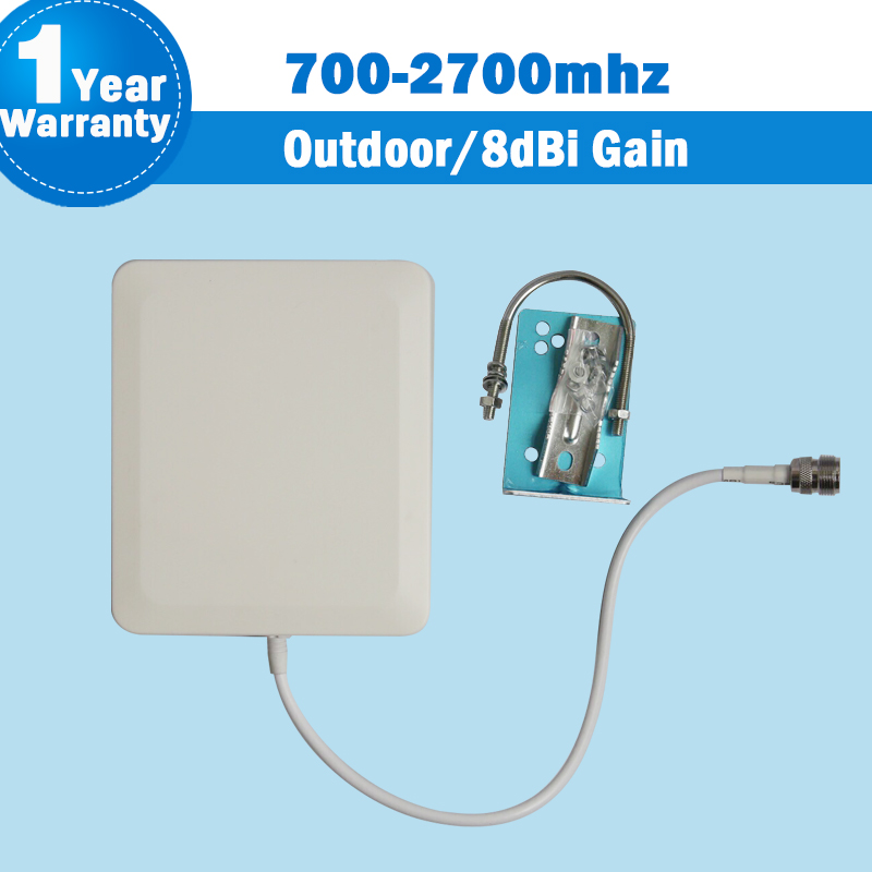 4G 3G 700-2700MHz LTE GSM CDMA DCS WCDMA UMTS Network Outdoor Panel Antenna External Antenna For Mobile Phone Siganl Booster S12