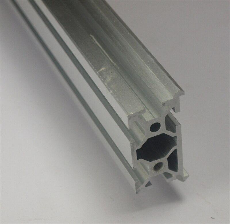 Bilgisayar ve Ofis'ten 3D Yazıcı Parçaları ve Aksesuarları'de 3D yazıcı CNC değirmen 1 metre/1000mm uzunluk açık kaynak alüminyum profiller V doğrusal ray MakerSlide Ekstrüzyon