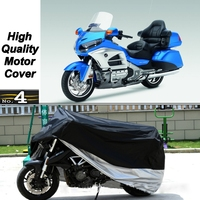 MotorCycle Cover For Honda Gold Wing GL1800 WaterProof UV / Sun / Dust / Rain Protector Cover Made of Polyester Taffeta