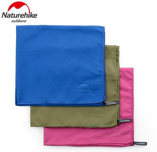 Naturehike Outdoor Travel Ultralight Microfibre Quick Drying Towel Shower Towel travel kits in Camping Mat from Sports Entertainment