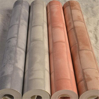 wellyu The New Papel de parede Chinese Brick Floral Wallpaper Green Brick Stereo Hotel Corridor Balcony TV Background Wallpaper