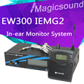 EW300 IEM G2 In Ear Monitor System !! Top Quality EW300G2 EK 300 Professional Monitoring with In Earphone Wireless Microphone