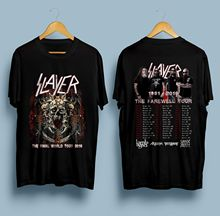 Slayer Final Farewell World Tour 2018 Second Leg T-SHIRT Size S - 5XL Sleeve T Shirt Summer Men Tee Tops Clothing